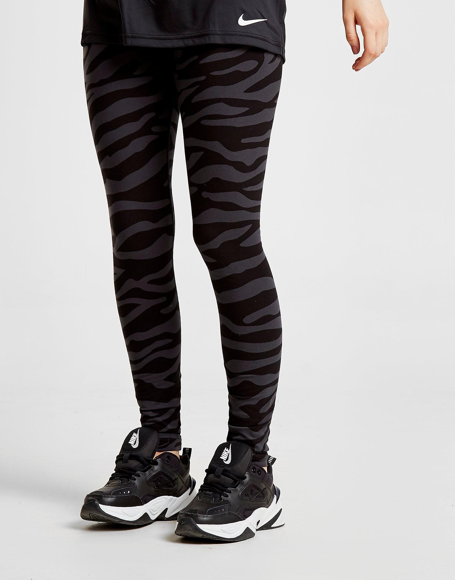 Nike Tiger Camo Leggings Dames - Zwart - Dames