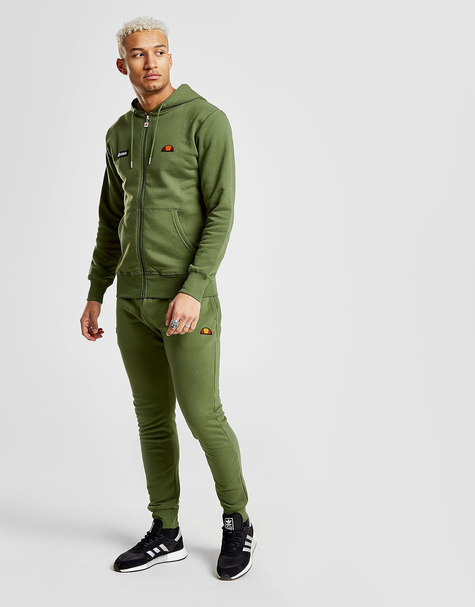 Ellesse Mirko Fleece Track Pants Heren - Khaki - Heren