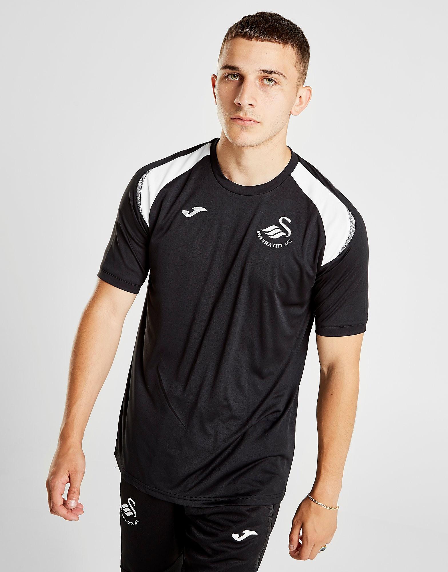 Joma Swansea City FC 2018/19 Training Shirt Heren - Zwart - Heren