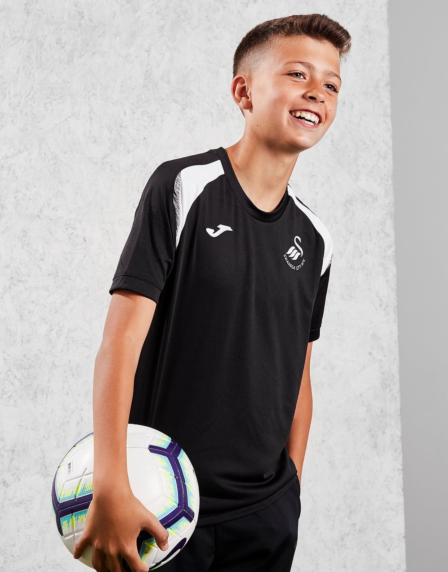 Joma Swansea City FC 2018/19 Training Shirt Junior - Zwart - Kind