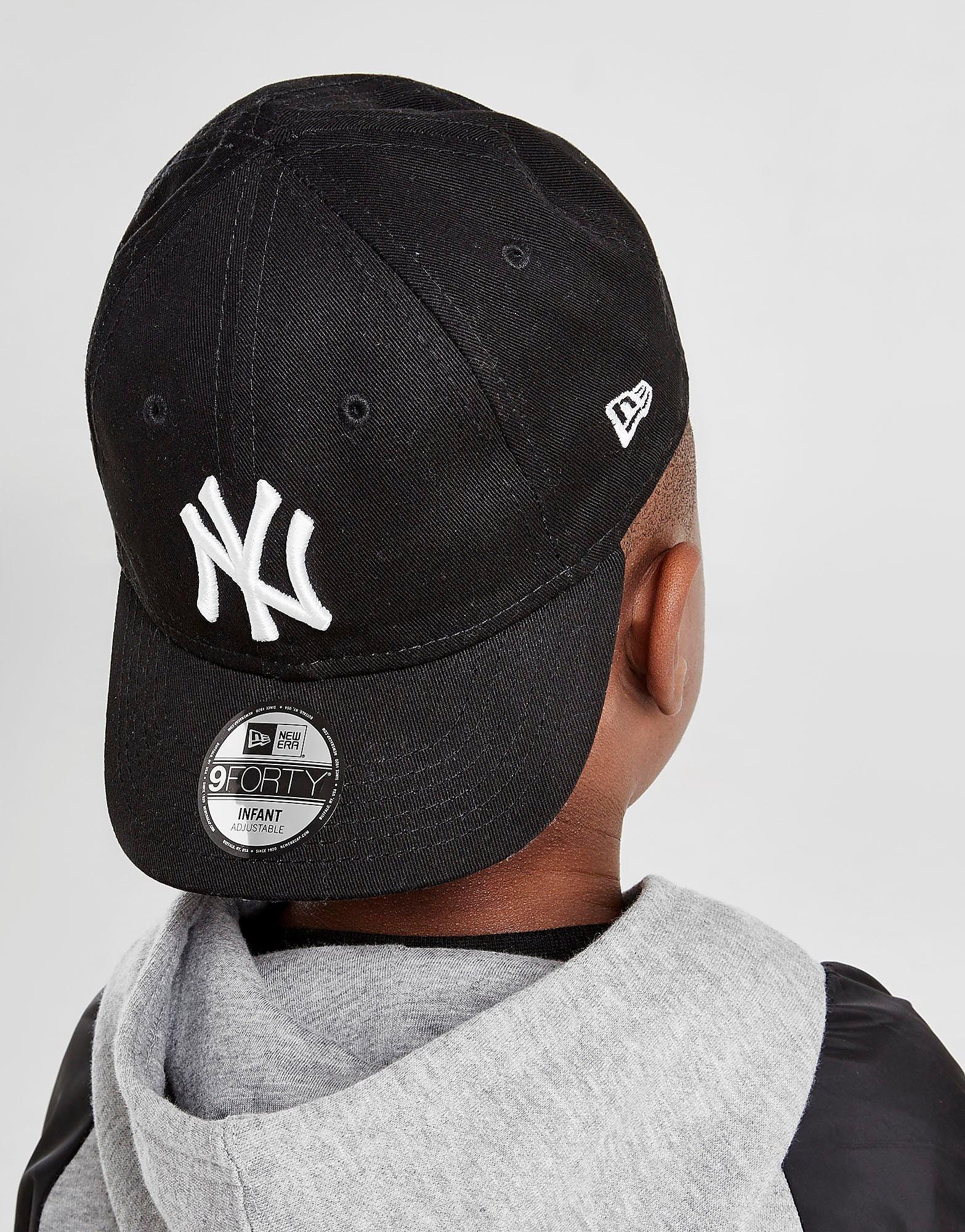 New Era MLB New York Yankees 9FORTY Cap Kinderen - Zwart - Kind