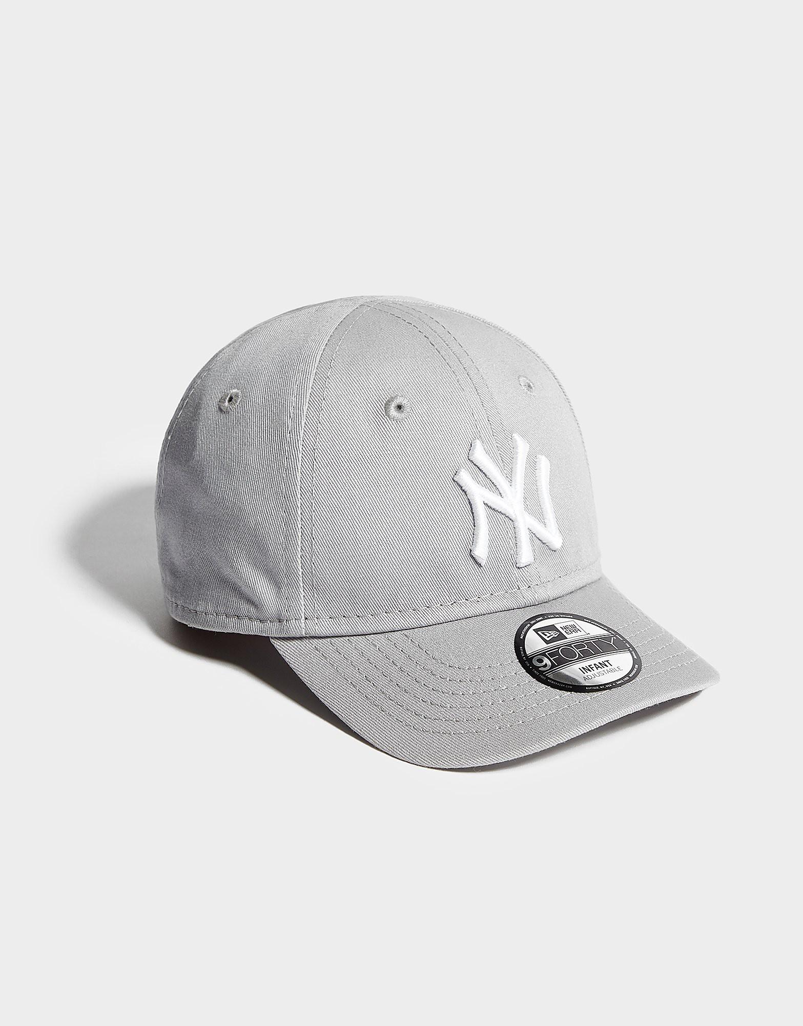 New Era MLB New York Yankees 9FORTY Cap Kinderen - Grijs - Kind