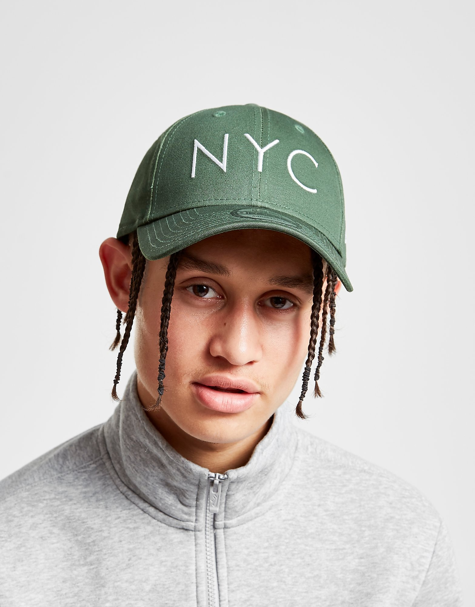 New Era 9FORTY NYC Cap - alleen bij JD - Groen - Heren