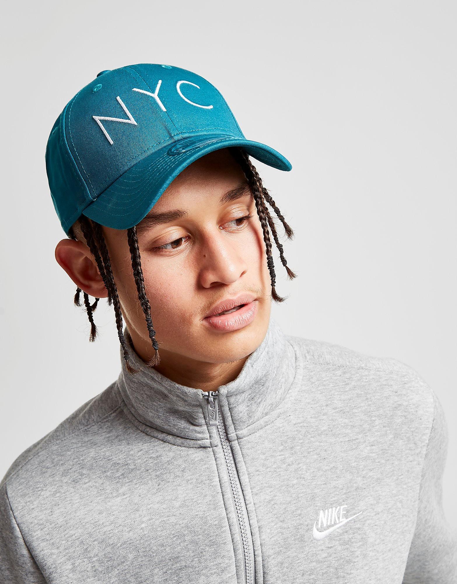 New Era 9FORTY NYC Cap - Blauw - Heren