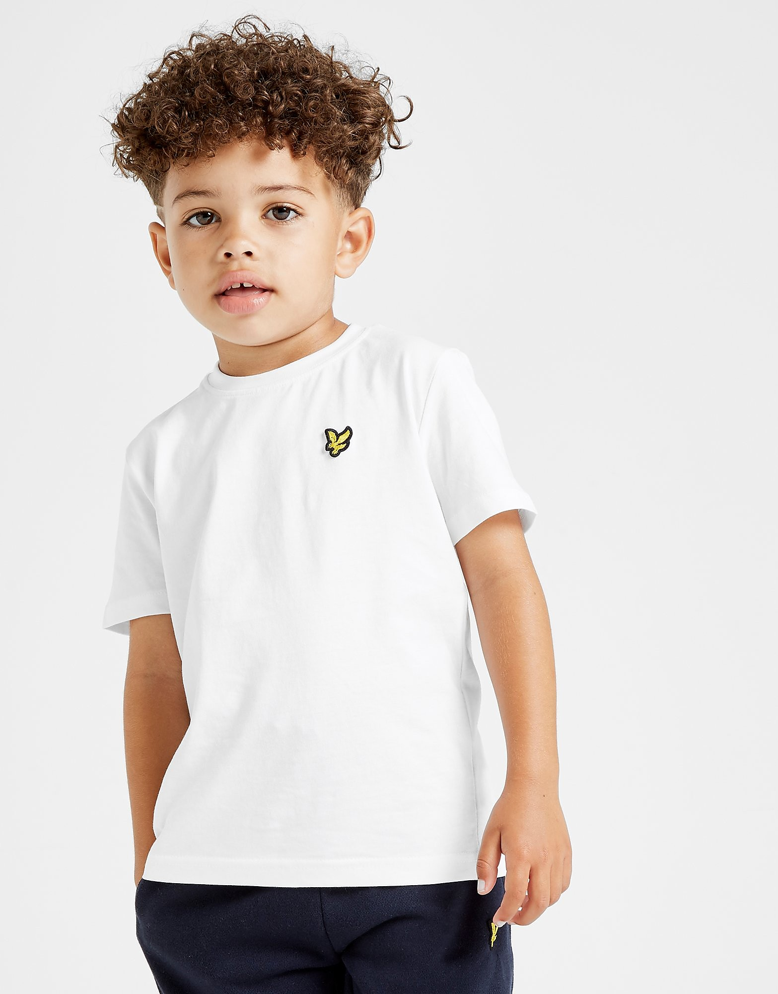 Lyle & Scott Logo T-Shirt Kinderen - Wit - Kind