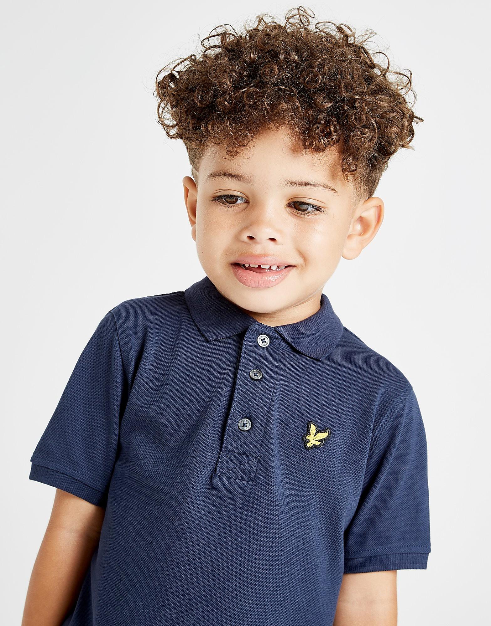 Lyle & Scott Logo Polo Shirt Children - Blauw - Kind