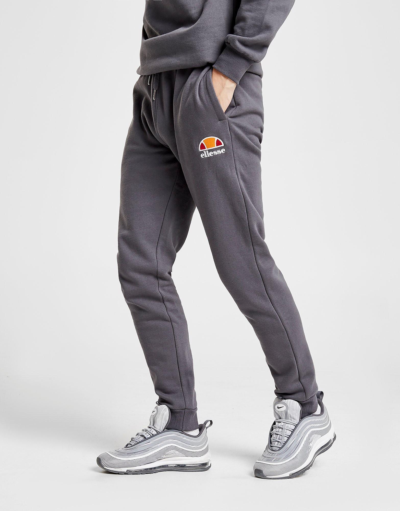 Ellesse Ortino Fleece Track Pants Heren - alleen bij JD - Grijs - Heren