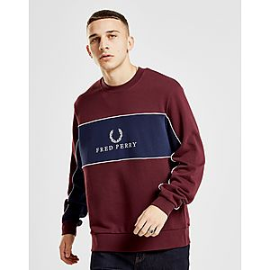 Fred Perry Centre Panel Sweatshirt ... f840b14e0