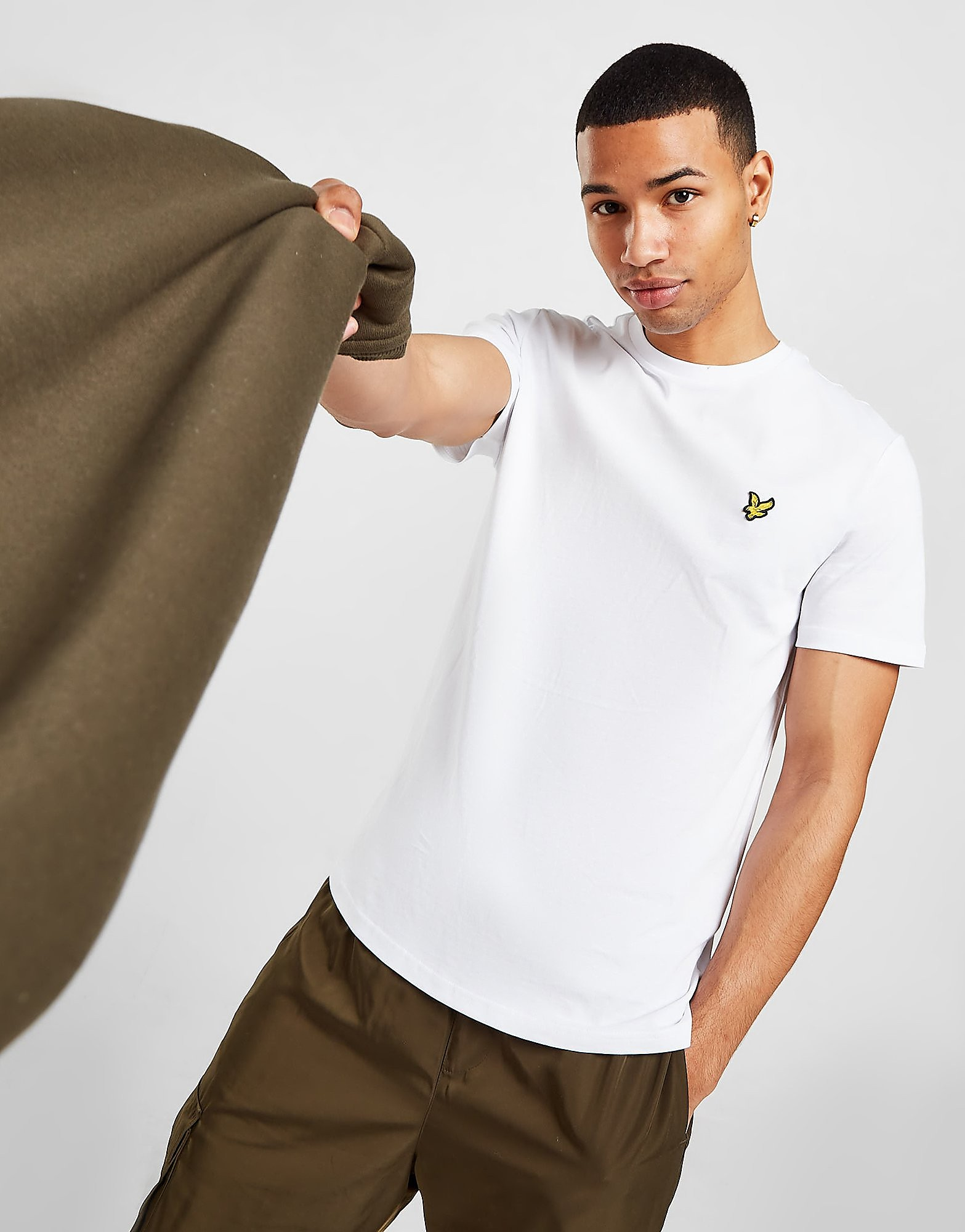 Lyle & Scott Plain White