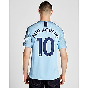 Nike Manchester City FC 2018 19 Aguero  10 Home Shirt ... 71a74cccefe3