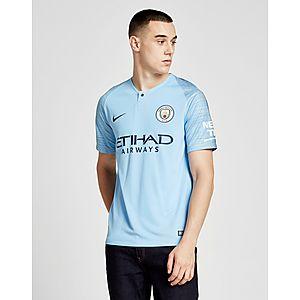 ... Nike Manchester City FC 2018 19 Aguero  10 Home Shirt 88d52ca4685d