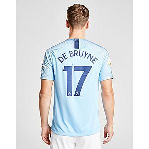 Nike Manchester City 2018 19 De Bruyne  17 Home Shirt ... fe1cf8932