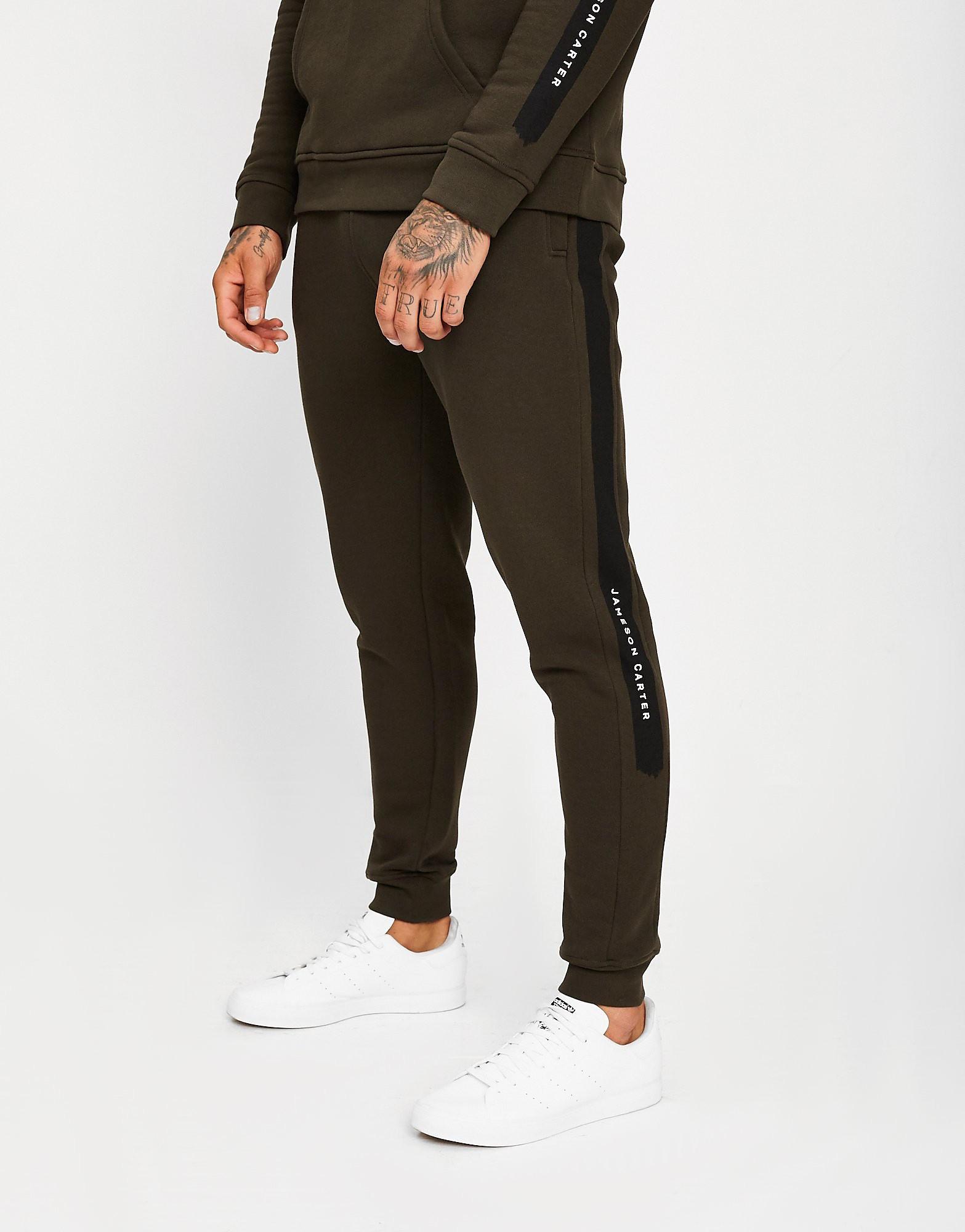 JAMESON CARTER Pantalon de survêtement Paint Stripe Homme - Only at JD - Khaki, Khaki