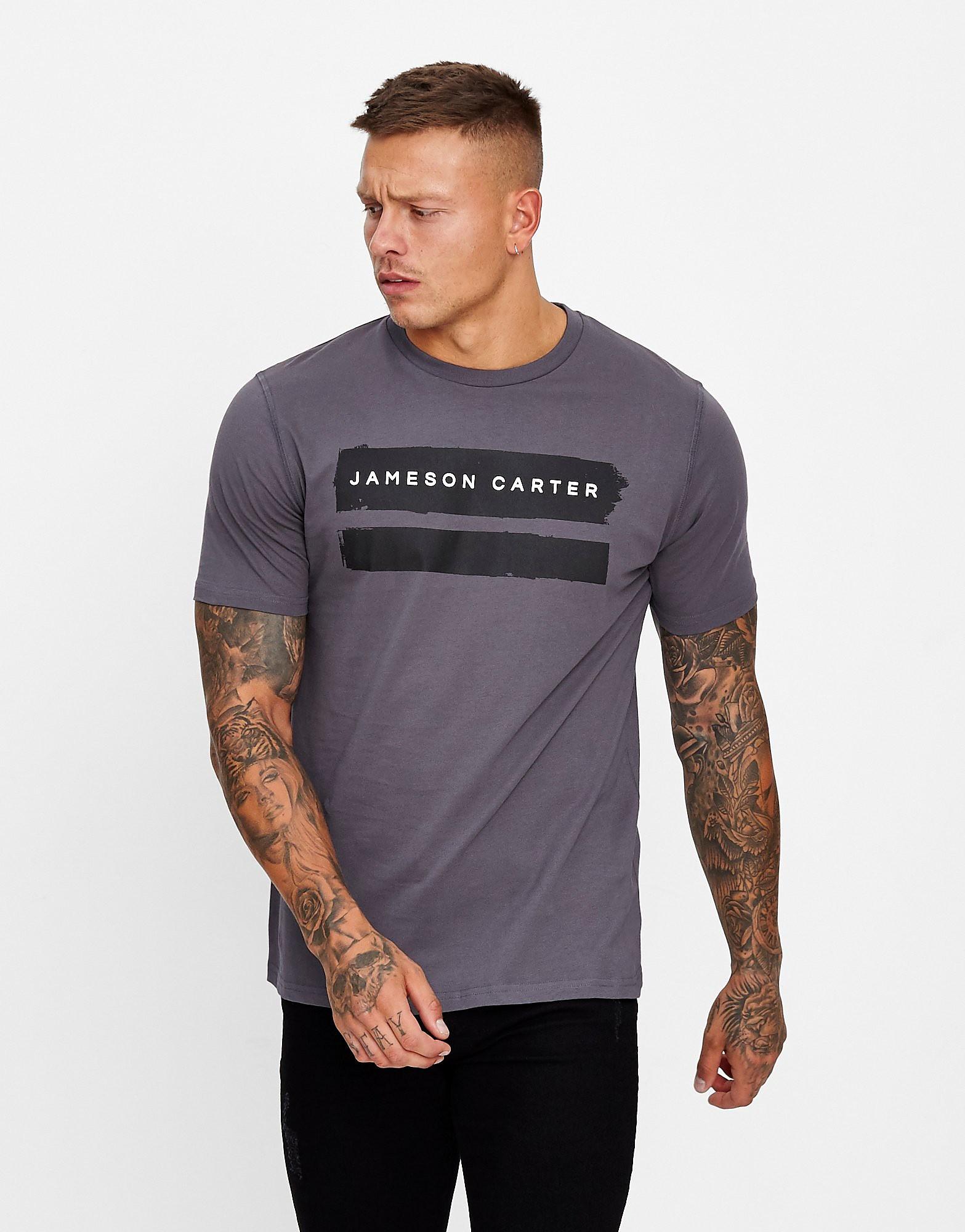 JAMESON CARTER T-shirt Paint Homme - Gris, Gris