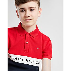 ... Tommy Hilfiger Colour Block Polo Shirt Junior 3452759613