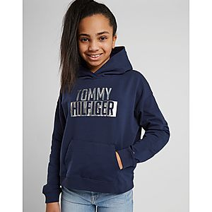 4fb361c3e3bb Tommy Hilfiger Girls  Essential Logo Crop Hoodie Junior ...