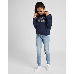 d227eb8eb70 ... Tommy Hilfiger Girls  Essential Logo Crop Hoodie Junior