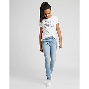 78bfe735b39 ... Tommy Hilfiger Girls  Izzy High Waisted Jeans Junior