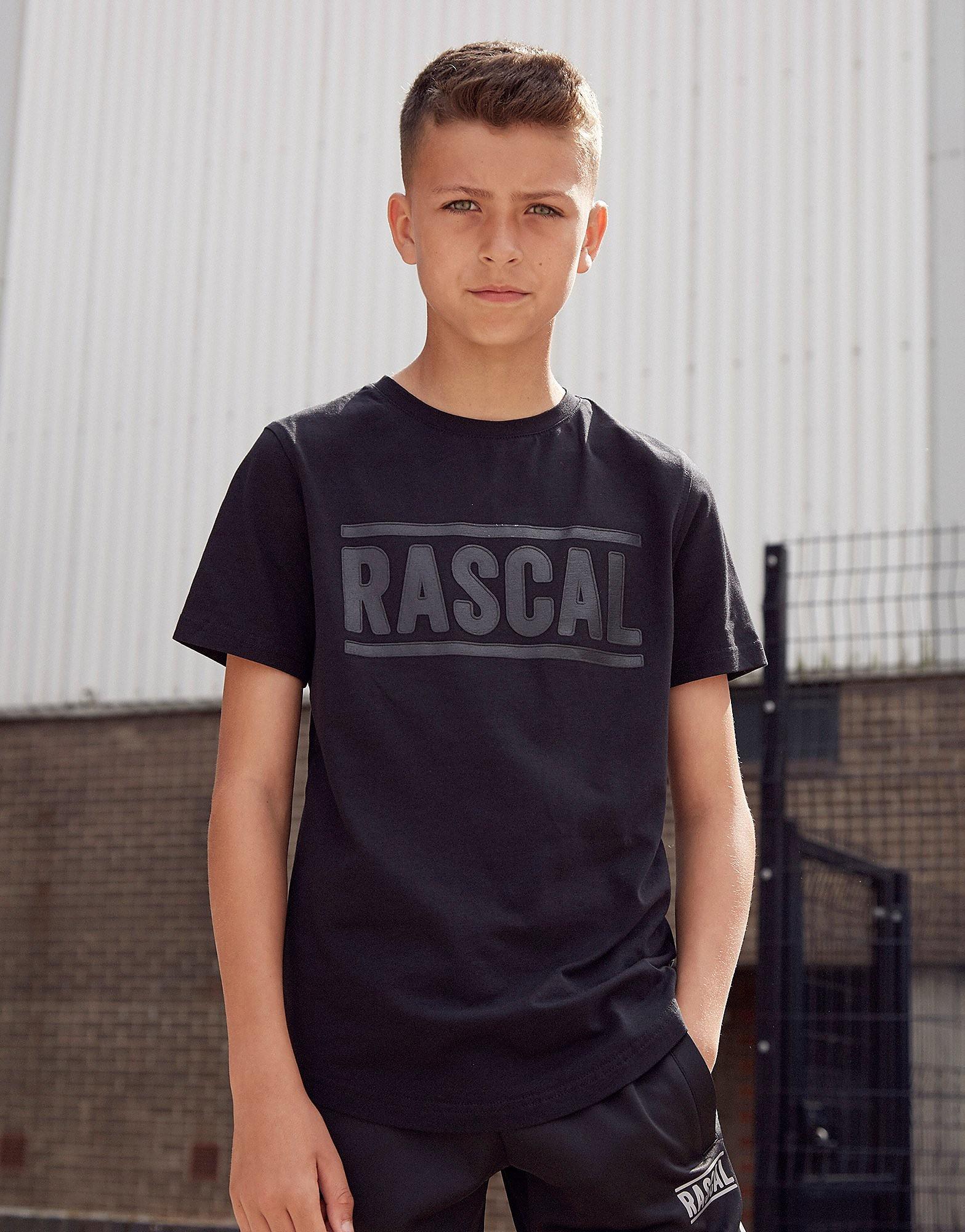 Rascal Lyon T-Shirt Junior - Zwart - Kind