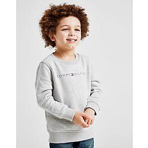 Tommy Hilfiger Logo Crew Sweatshirt Children ... 5815791397