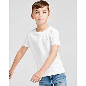 Tommy Hilfiger Small Flag T-Shirt Children ... 681ef60e9d