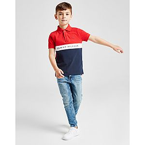 ... Tommy Hilfiger Colour Block Polo Shirt Children 8676bb3acb
