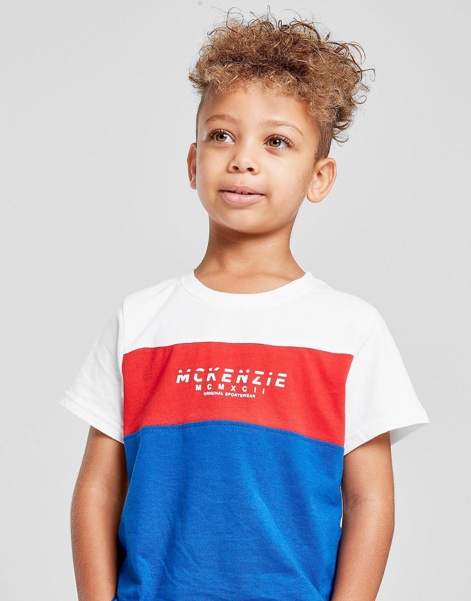 McKenzie Mini Mixon 2 T-Shirt Children - alleen bij JD - Blauw - Kind