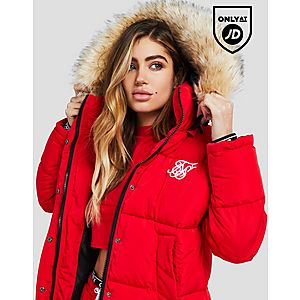 fced45c5885e SikSilk Fur Hood Padded Jacket ...