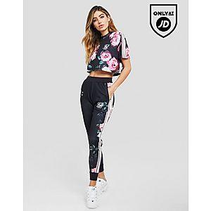 SikSilk Floral Tape Track Pants ... e4cfc47231