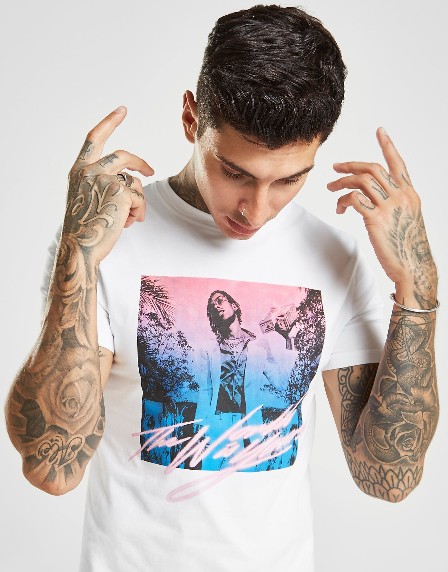 Supply & Demand Rich The Kid T-Shirt Heren - Wit - Heren