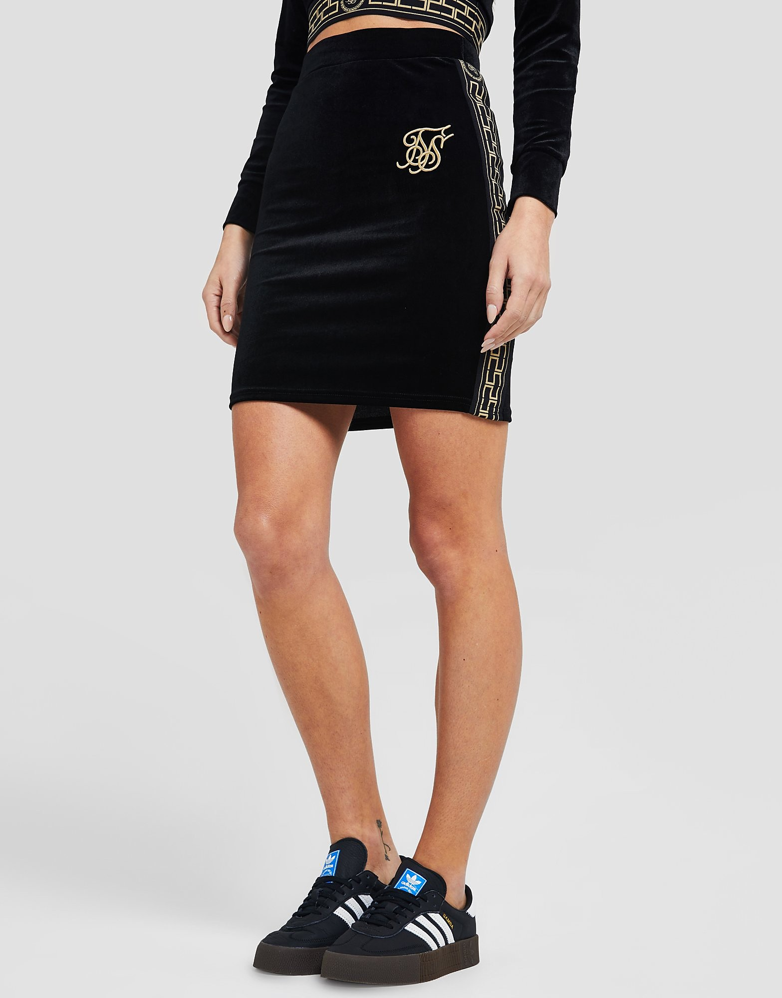 SikSilk Athena Skirt - alleen bij JD - Zwart - Dames
