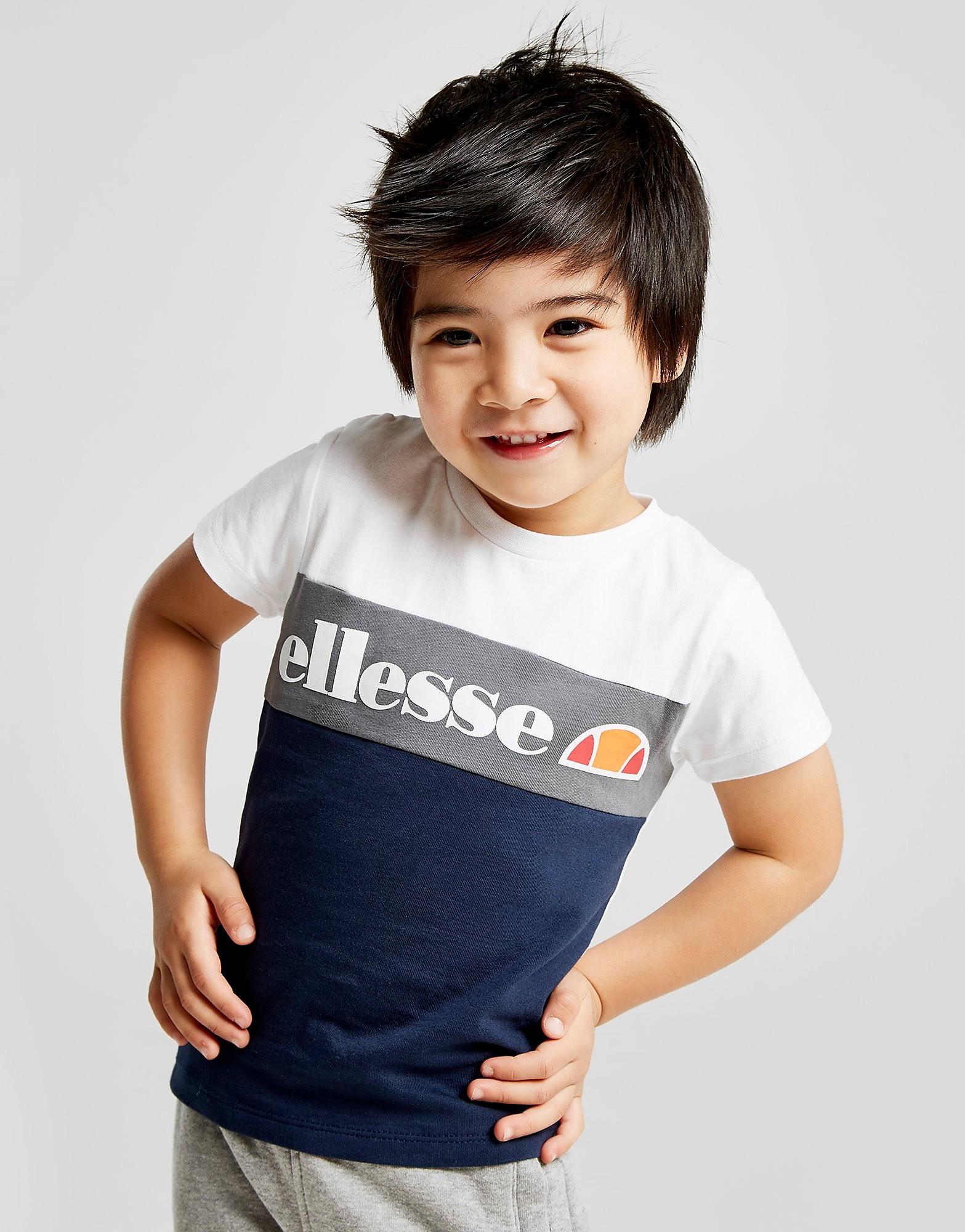 Ellesse Centio Colour Block T-Shirt Infant - alleen bij JD - Blauw - Kind