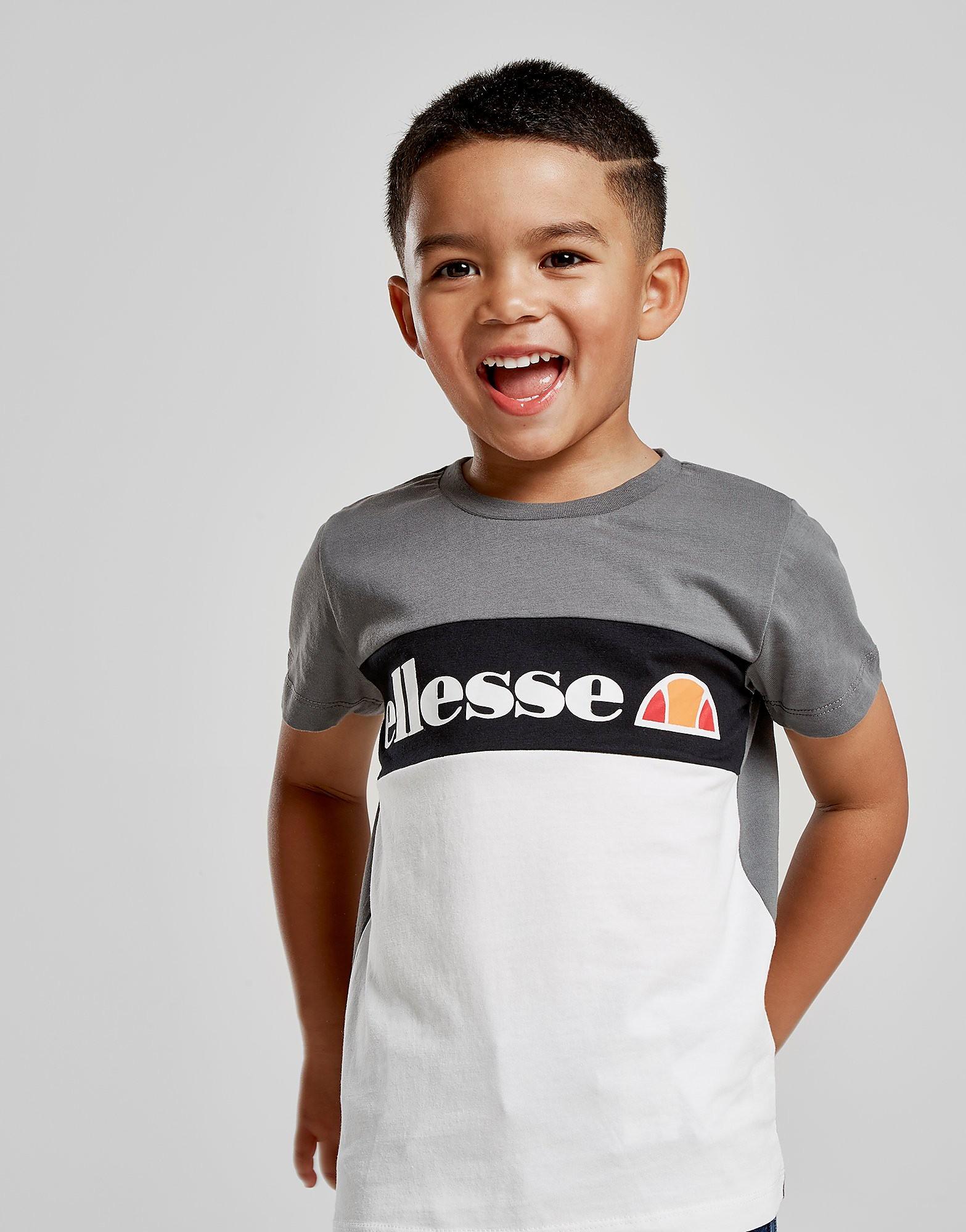 Ellesse Centio Colour Block T-Shirt Children - alleen bij JD - Grijs - Kind