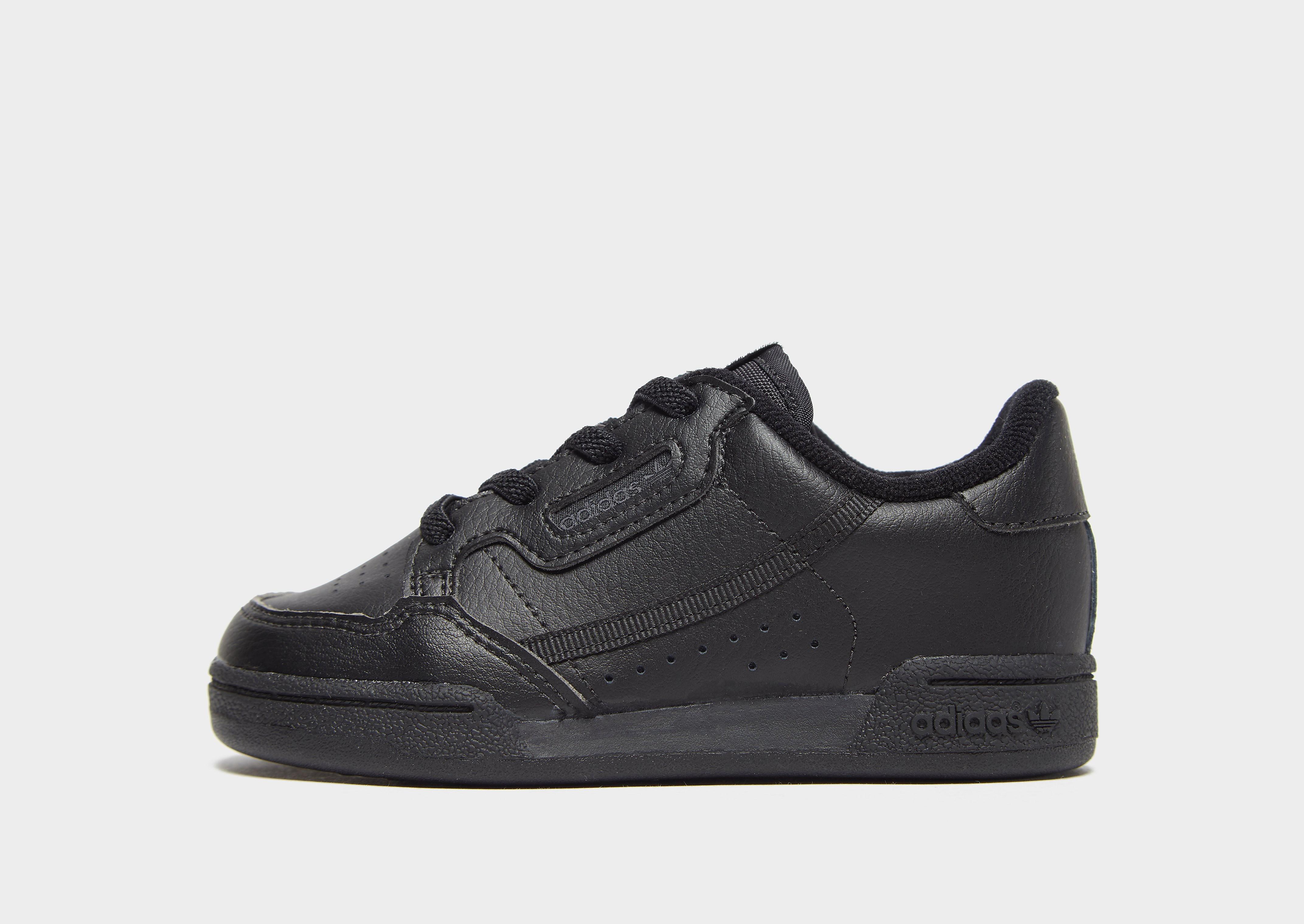 Adidas Continental 80 babysneaker zwart