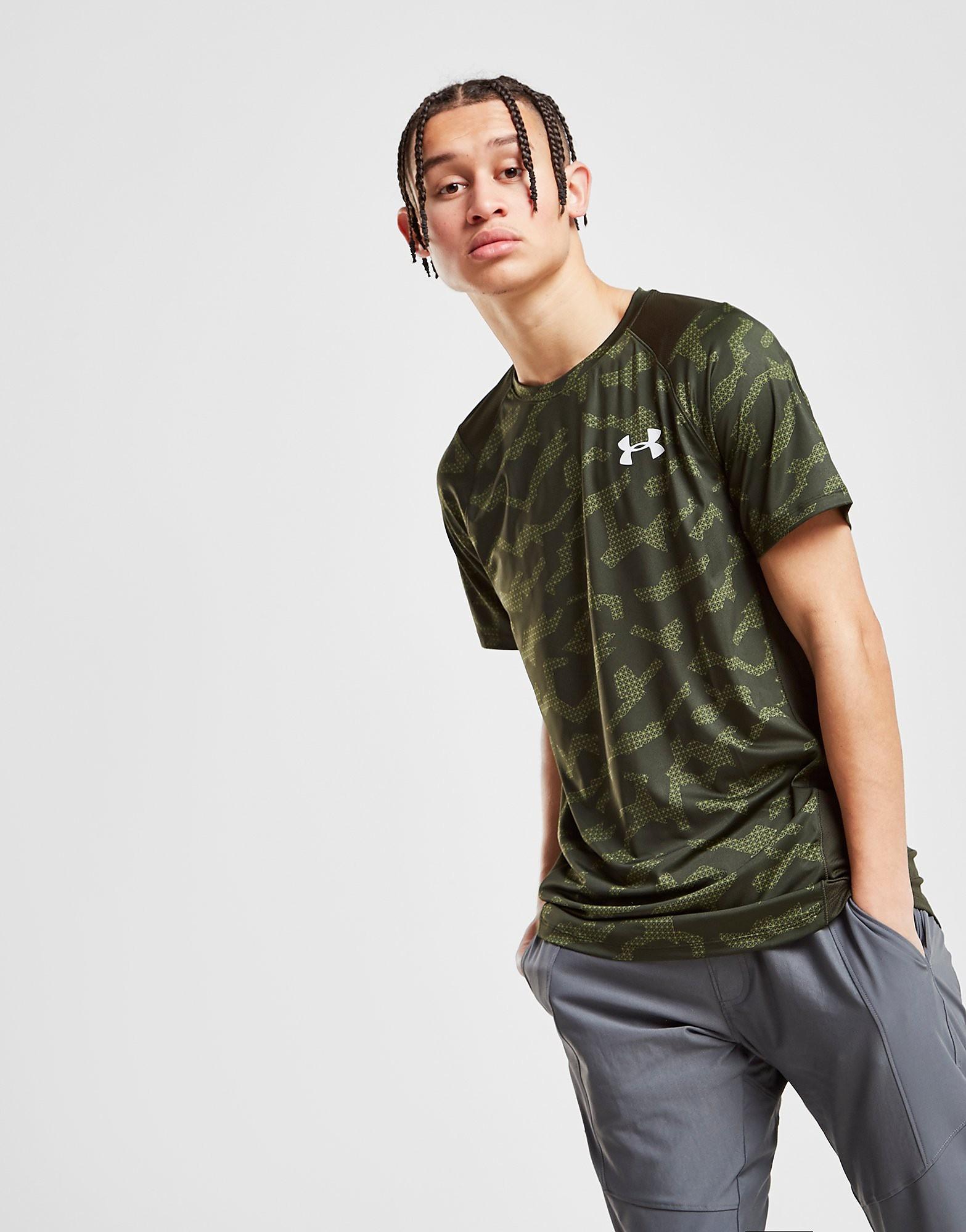 Under Armour MK-1 Twist T-Shirt Heren - alleen bij JD - Groen - Heren
