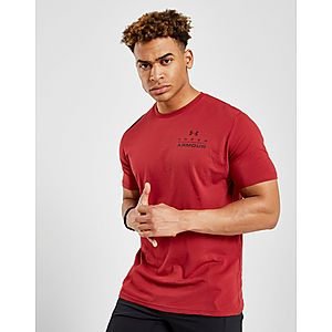 Under Armour Stacked Left Chest T-Shirt ... 200a107418631