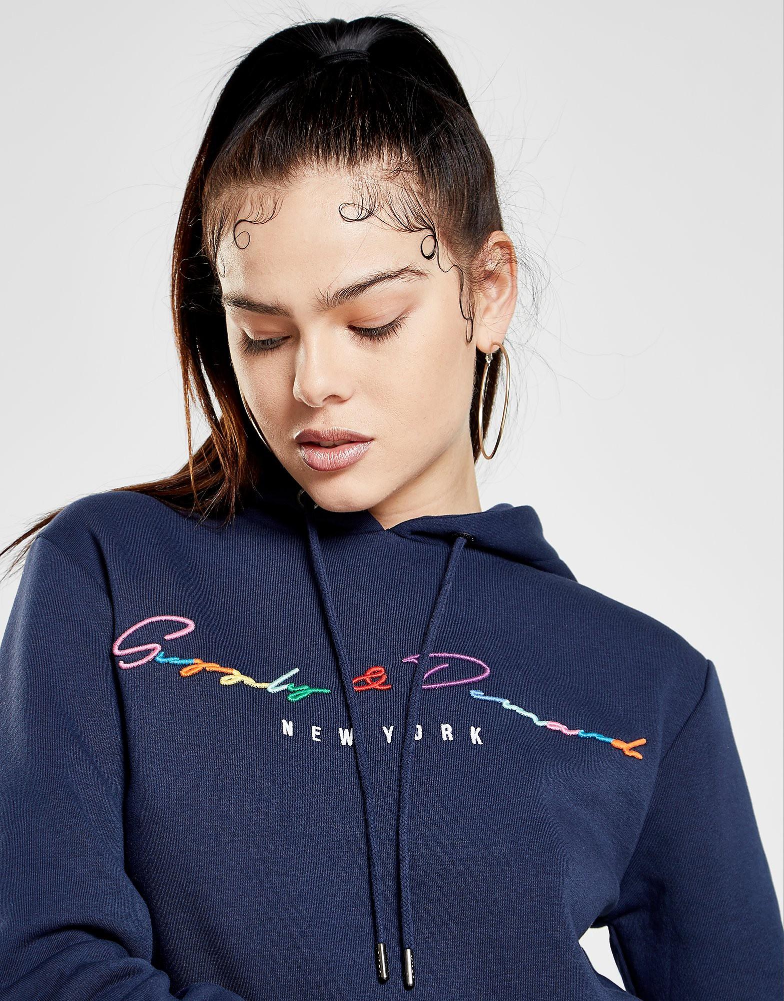 Supply & Demand Rainbow Hoodie - alleen bij JD - Blauw - Dames