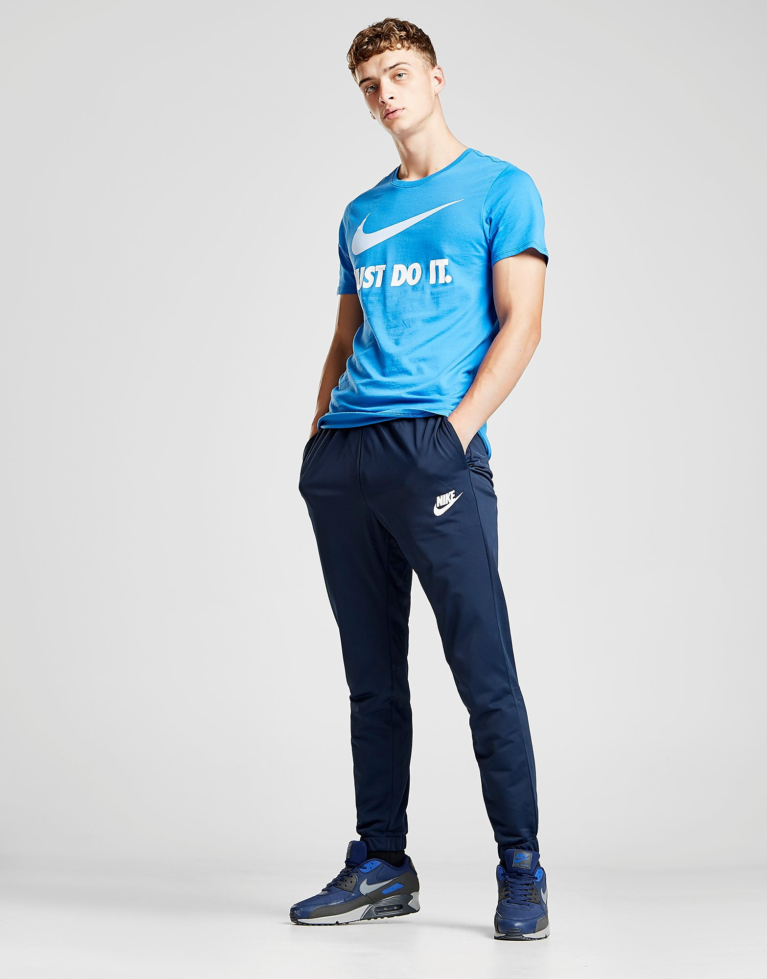 Nike Division Poly Track Pants - Blauw - Heren