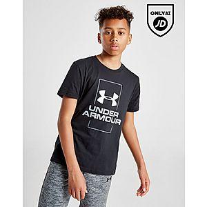 best cheap 51870 91cd7 Under Armour Vertical Logo T-Shirt Junior ...