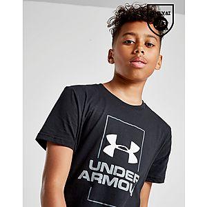 low priced 5bd59 cbb02 ... Under Armour Vertical Logo T-Shirt Junior