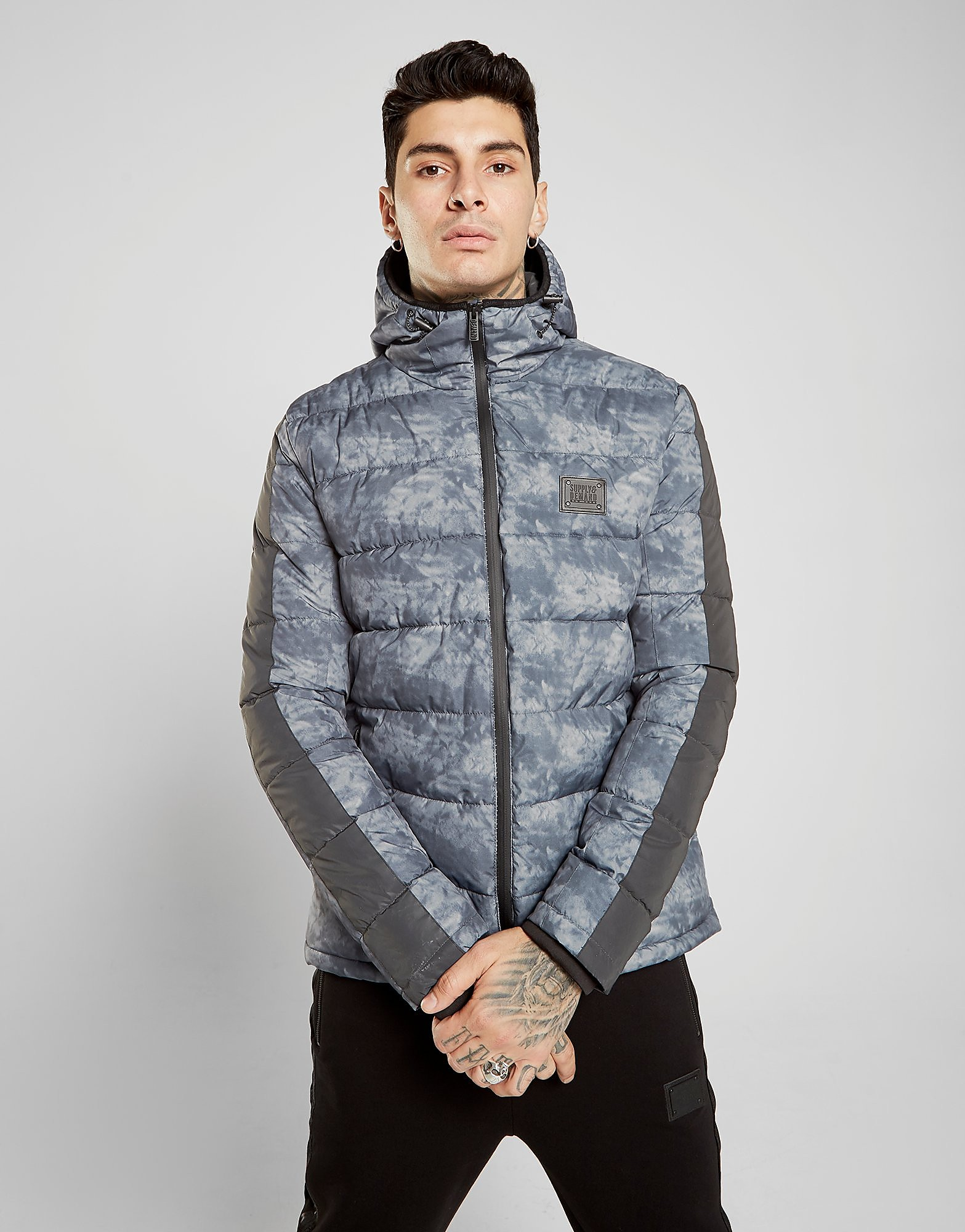Supply & Demand Havoc Smoke Jacket - Grijs - Heren