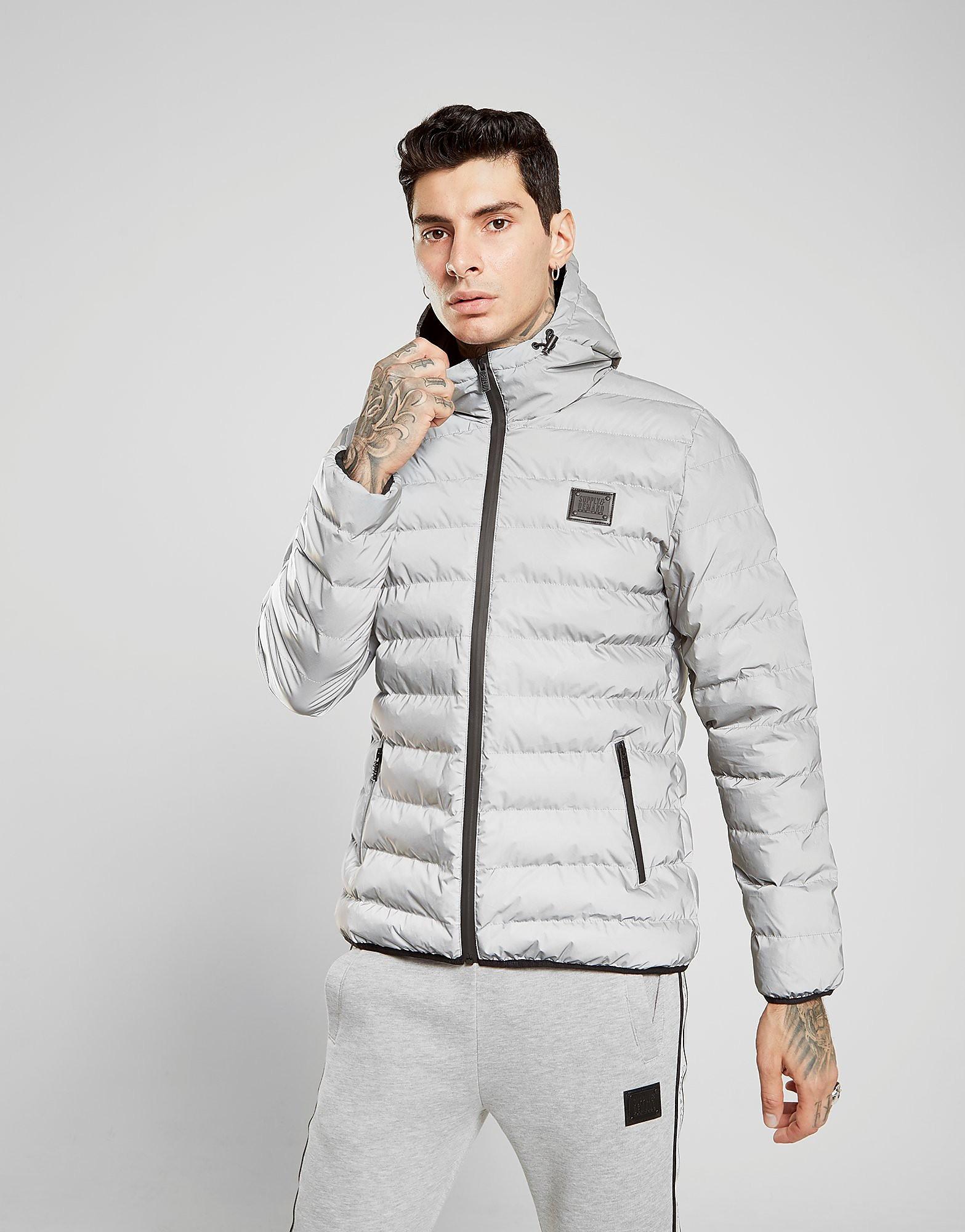 Supply & Demand Havoc Reflective Jacket Heren - Zilver - Heren