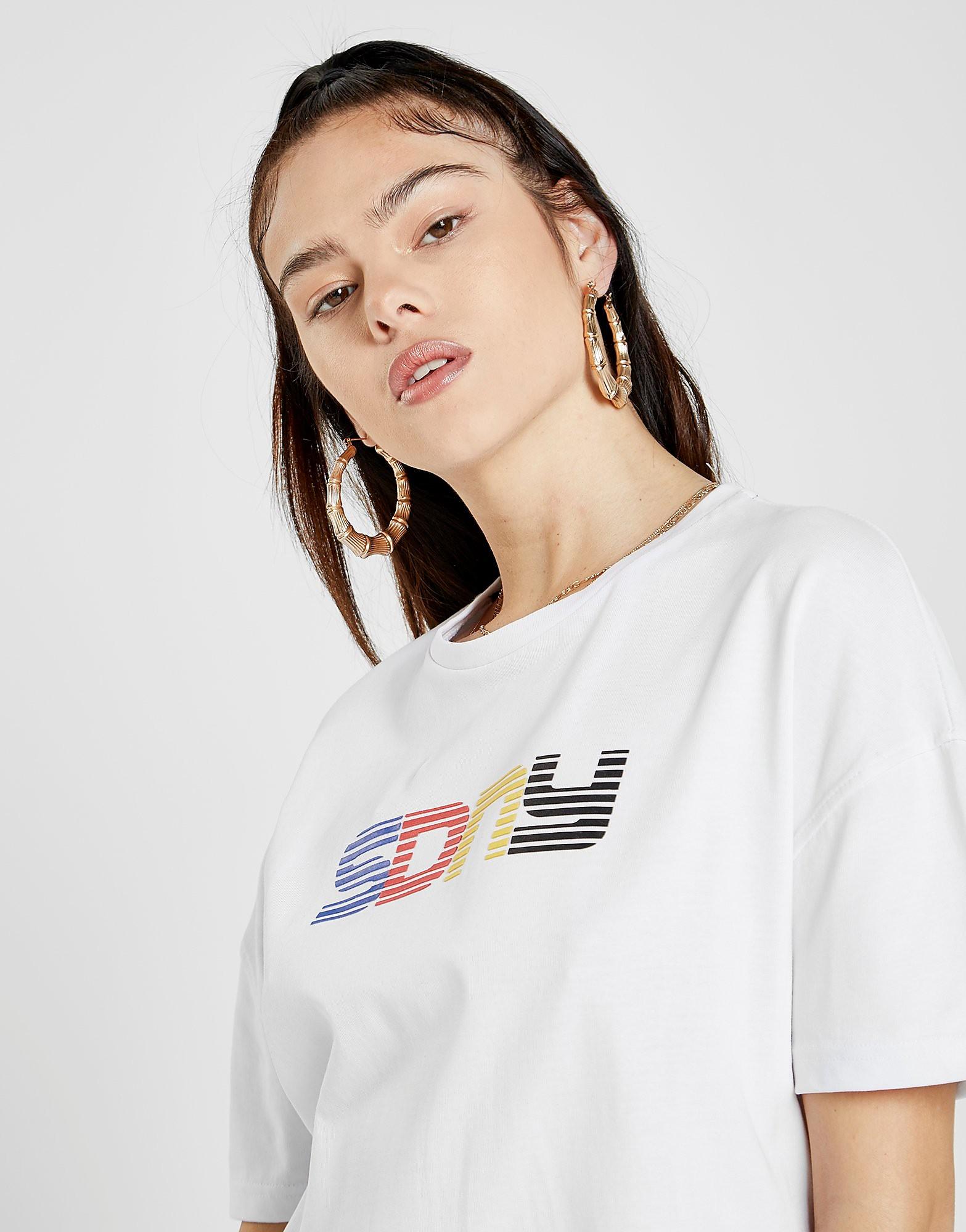 Supply & Demand Boyfriend T-Shirt Dames - alleen bij JD - Wit - Dames