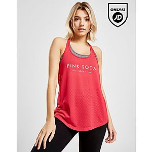 002e5e79c3bed Pink Soda Sport Grindle 2 in 1 Tank Top ...