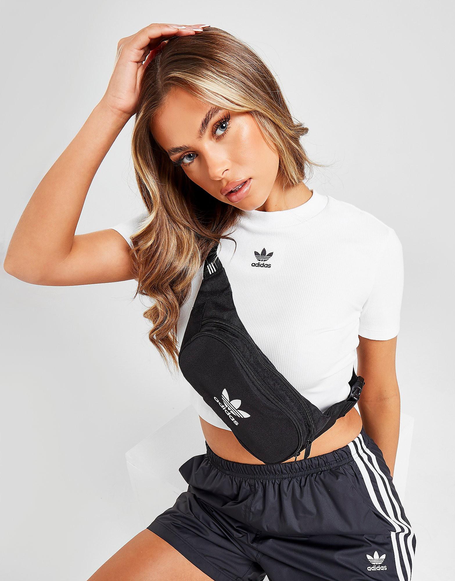 Adidas heuptas zwart en wit