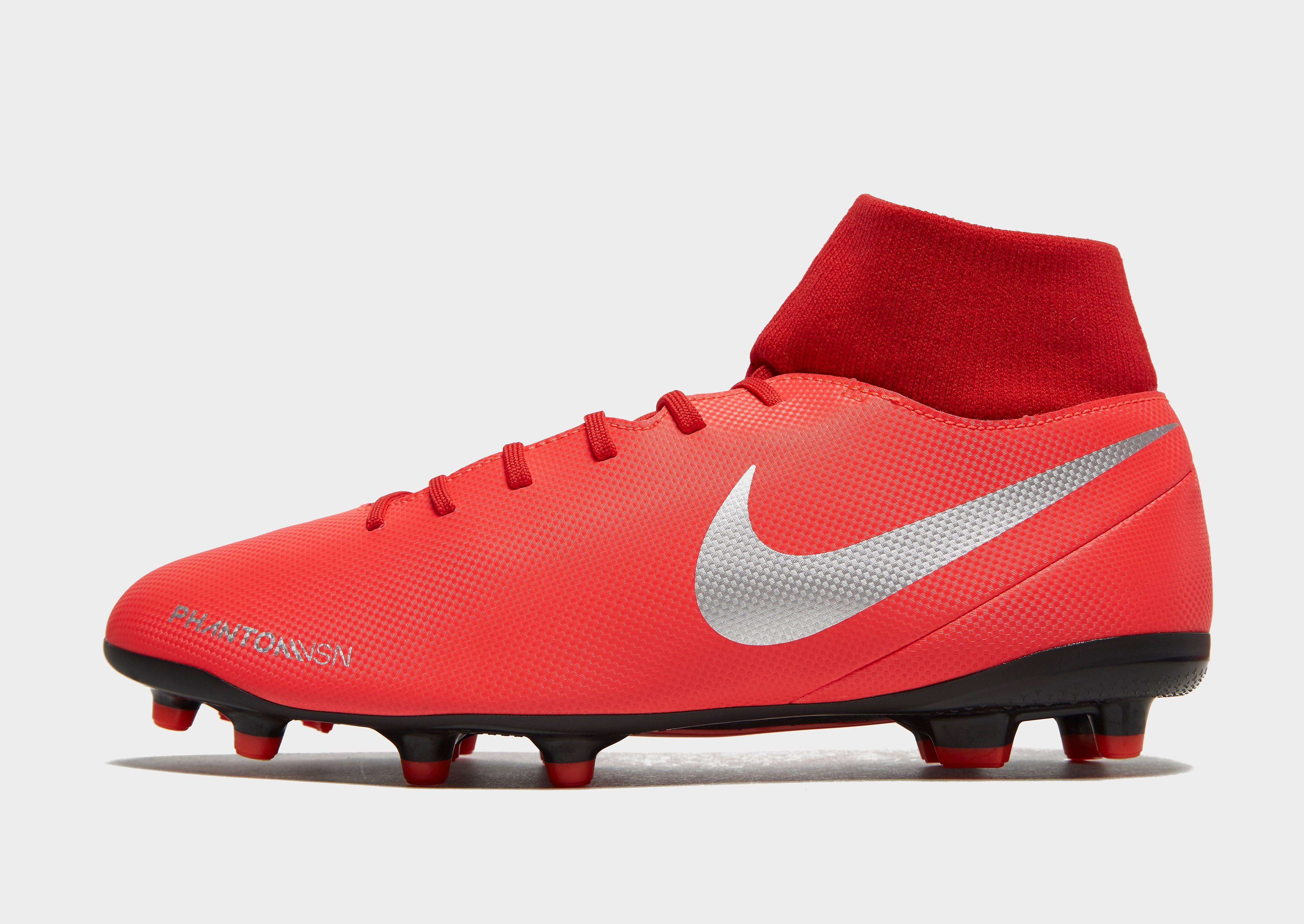 Nike Game Over Phantom Vision Club FG Heren - Rood - Heren