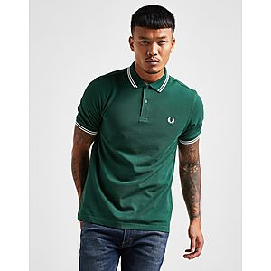 3fd572925bb Fred Perry Slim Twin Tipped Short Sleeve Polo Shirt ...