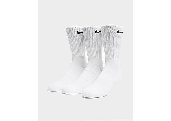 Nike 3-Pack Cushioned Crew Socks, Black