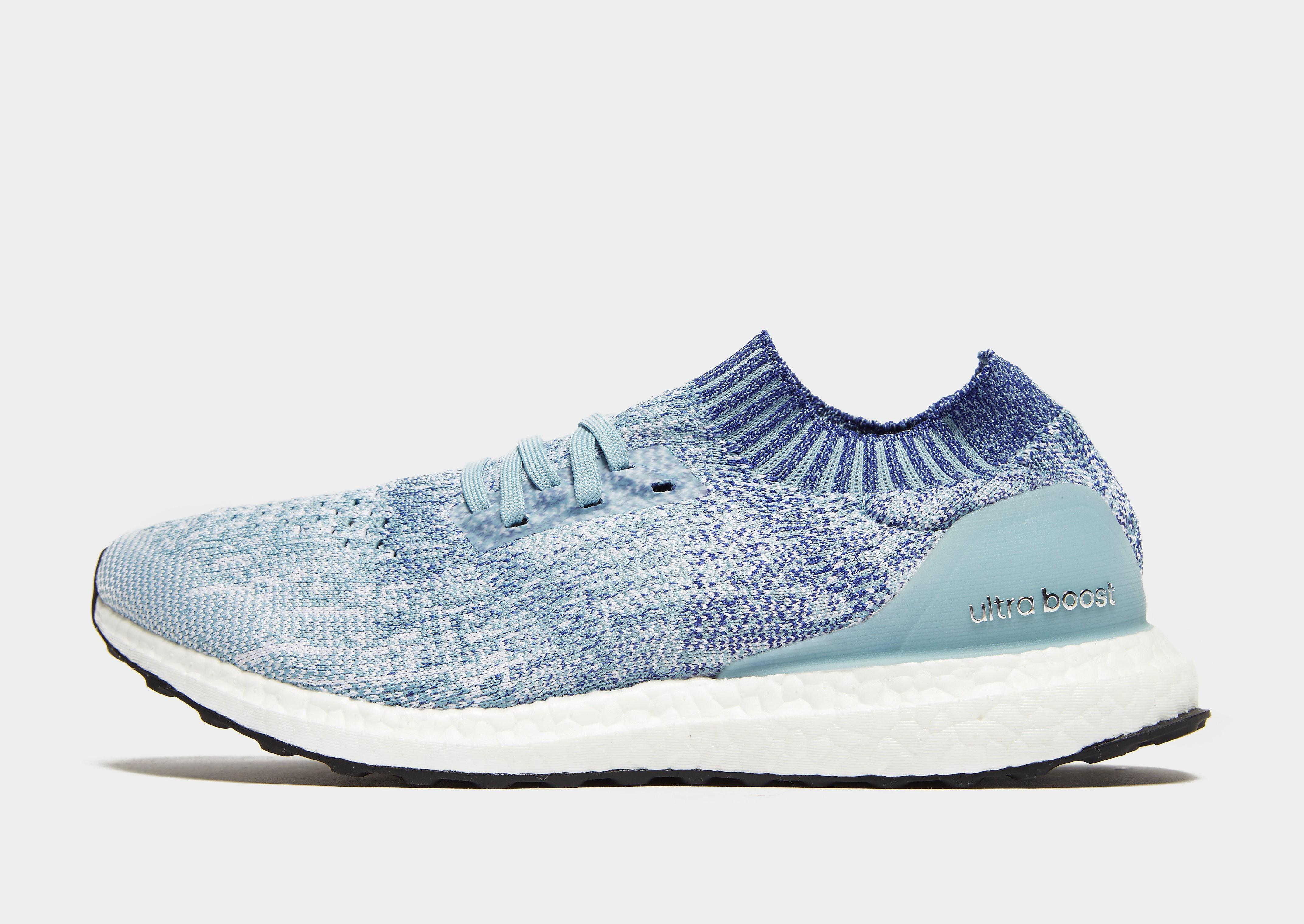 Adidas Ultra Boost herensneaker blauw en grijs