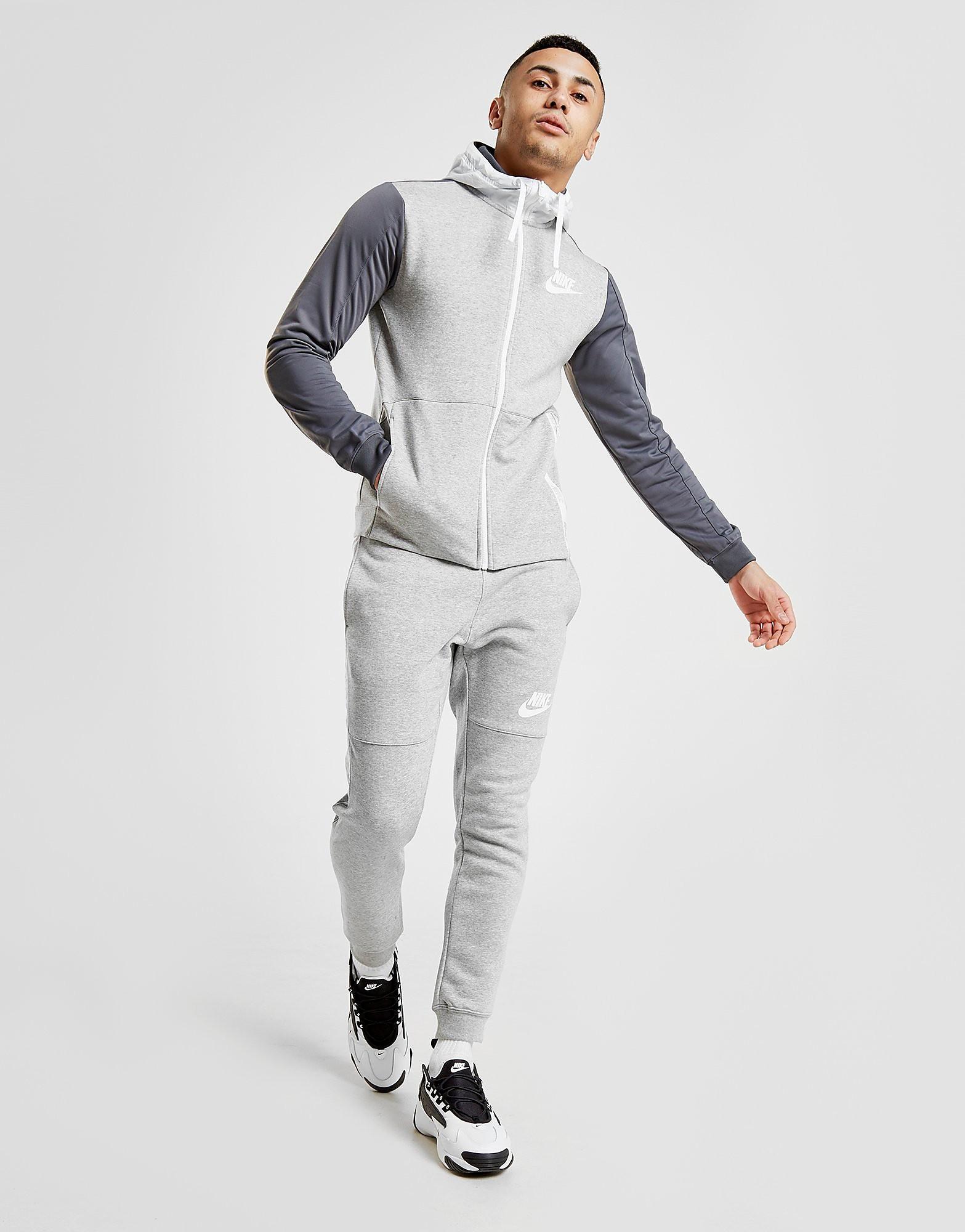 Nike Hybrid Fleece Joggers Heren - alleen bij JD - Grijs - Heren